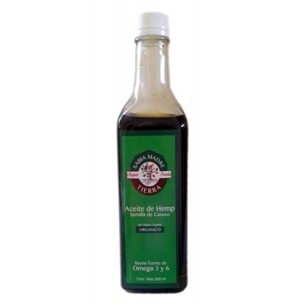 Aceite de semilla de hemp 500ml
