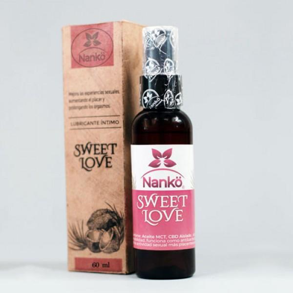 """Aceite íntimo """"Sweet Love"""" 60ml, de Nan..."""