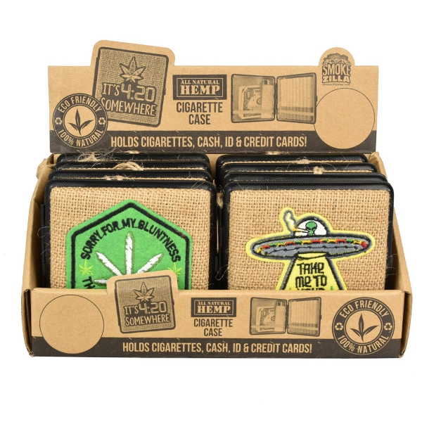Smokezilla Hemp Cigarette Case | Kingsize | 8pc